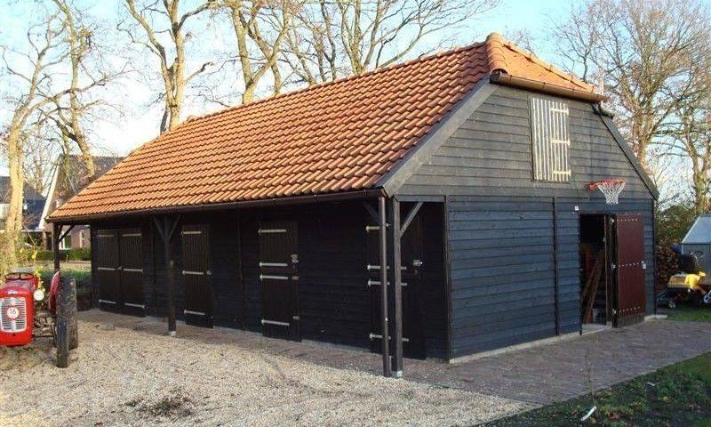 Houtbouw Garage Schuur : Nostalgische schuur 6 schipper houtbouw