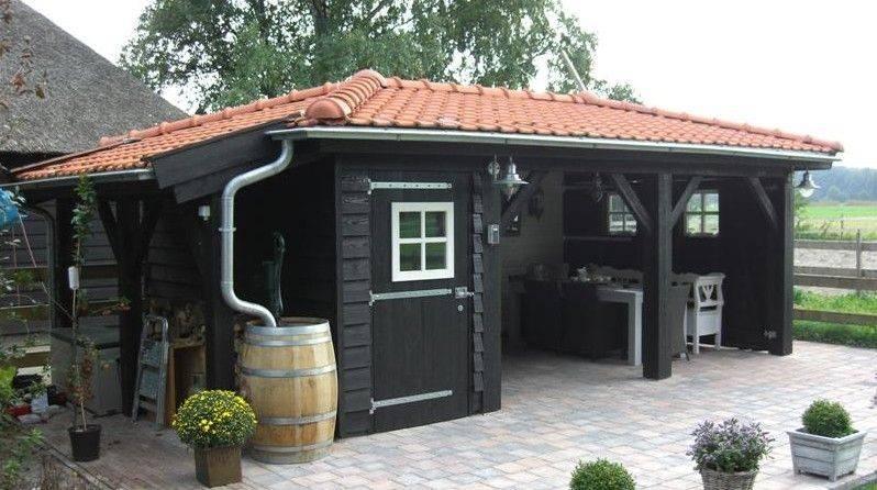 Tuinhuis | Schipper Houtbouw