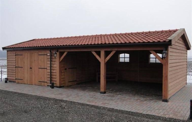 Houtbouw Garage Schuur : Klassieke schuur 10 schipper houtbouw