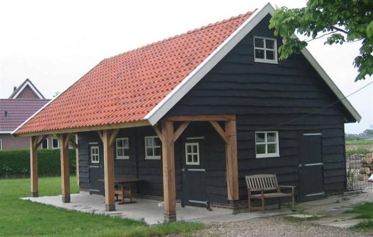 Klassieke schuur 16 schipper houtbouw schipper houtbouw for Zelf woning bouwen prijzen