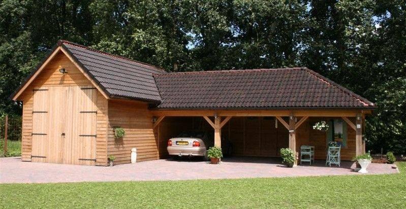 Maatwerk houten garages schipper houtbouw - Steen en constructie ...