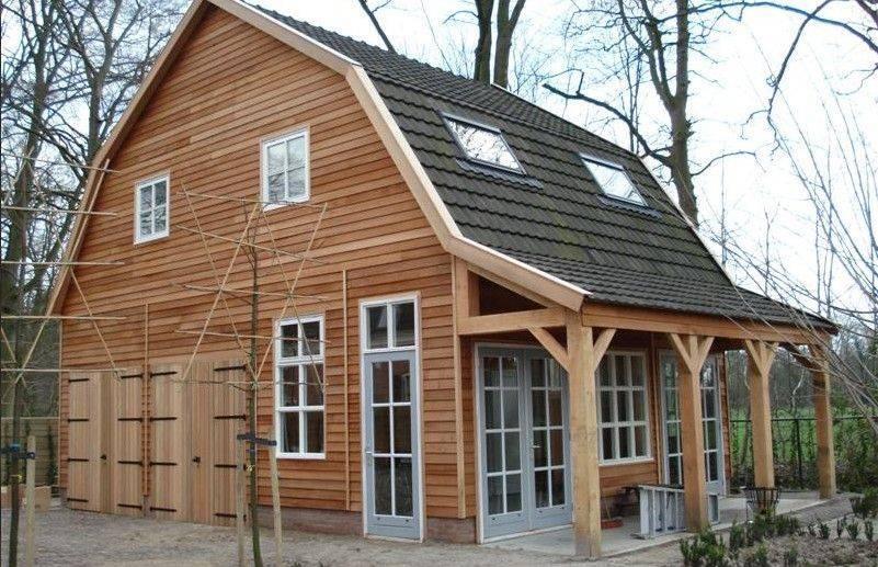Nieuw schipper houtbouw schipper houtbouw - Veranda met dakpan ...