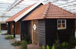 Tuinhuis met poolhouse
